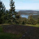 view of Garrison Bay