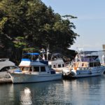 docked at Jones Island