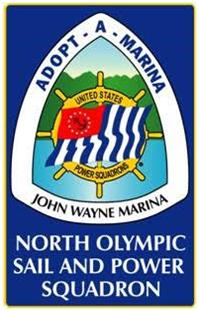 signage can be found at John WAyne Marina