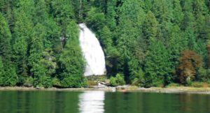 Chatterbox Falls in full form