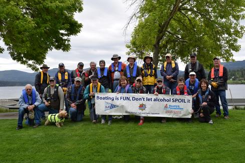Promoting Boat Safety Week - LifeJackets Wear them.
