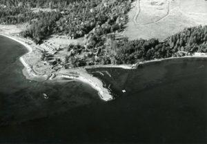 Original site prior to dredging of the John Wayne Marina