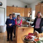 Sandy Thomas, Nila Madsen, Lyn Smith & Cindy Ross Members
