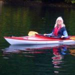 Sandy enjoying her kayak
