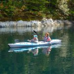 Patti and Sally out for a kayak