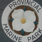 which Marine park can you find this sign?