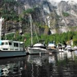 six NOSPS boats docked