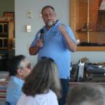 Commander Ray Madsen addresses NOSPS