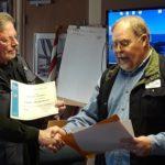 Steve M receives his Electronic Nav & Engine Maintenance Certificates