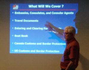 "R Roberts teaching ""Crossing Borders"" Clinic"