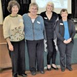 Assistant EO Sally C with Semanship Instructors Judy S, Julia R & Sandy T