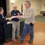 Duane receives Seamanship Certificate