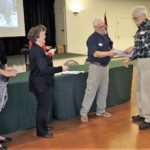 Ken & Andrea receives Seamanship Certificate
