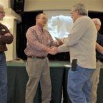 Duane receives Engine Maintenance Certificate