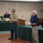 Gordon B & EO Ray T ready to present certificates