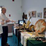 Tom O'Laughlin shows J Lamb his Raramuri Tribe Collection
