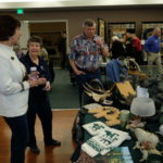 Sally explains her Moose Collection with Sandy T