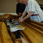 Ted demoes his personally built row boat