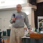 Chuck Lamb speaking about his wooden box