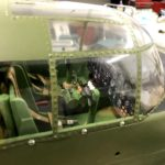 Inside the cockpit of the B25- Mitchell