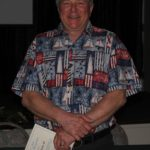 Gordon Bolyard being recognized as Instructor for 2017/2018