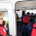 Pre trip briefing aboard ZCat by Instructor, Suzy Webb