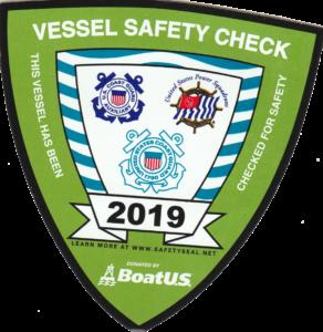 2019 Vessel Safety Sticker