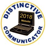 Distinctive Communicator Award 2018 Web