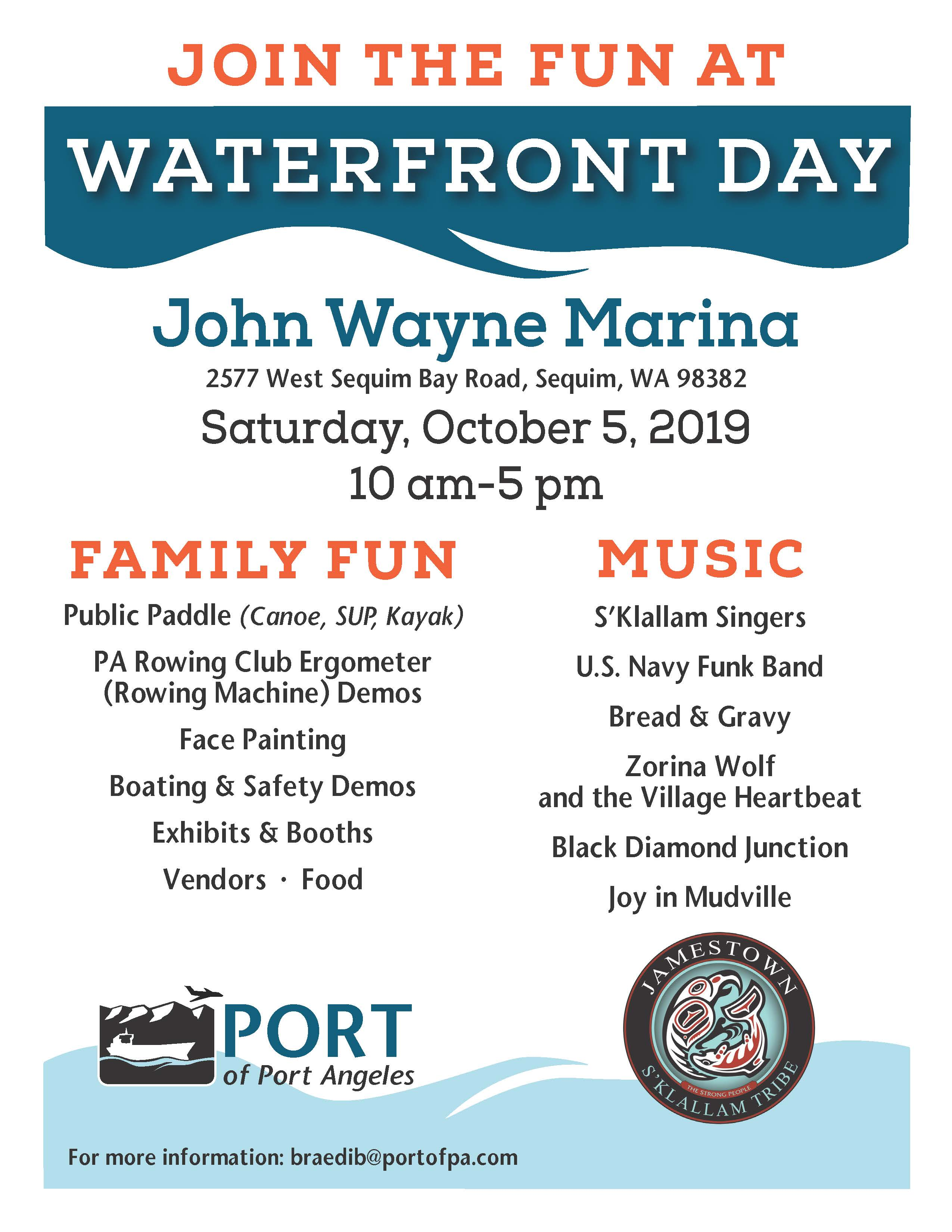 Waterfront Day Flyer